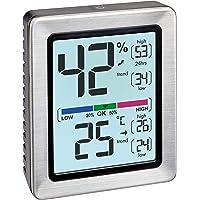 TFA Dostmann Exacto 30.5047.54 - Termómetro, higrómetro digital, humedad, temperatura, clima saludable residencial…