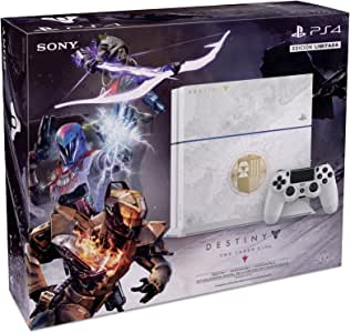 Consola PlayStation 4, 500GB, blanco + Destiny: The Taken King - Bundle Edition