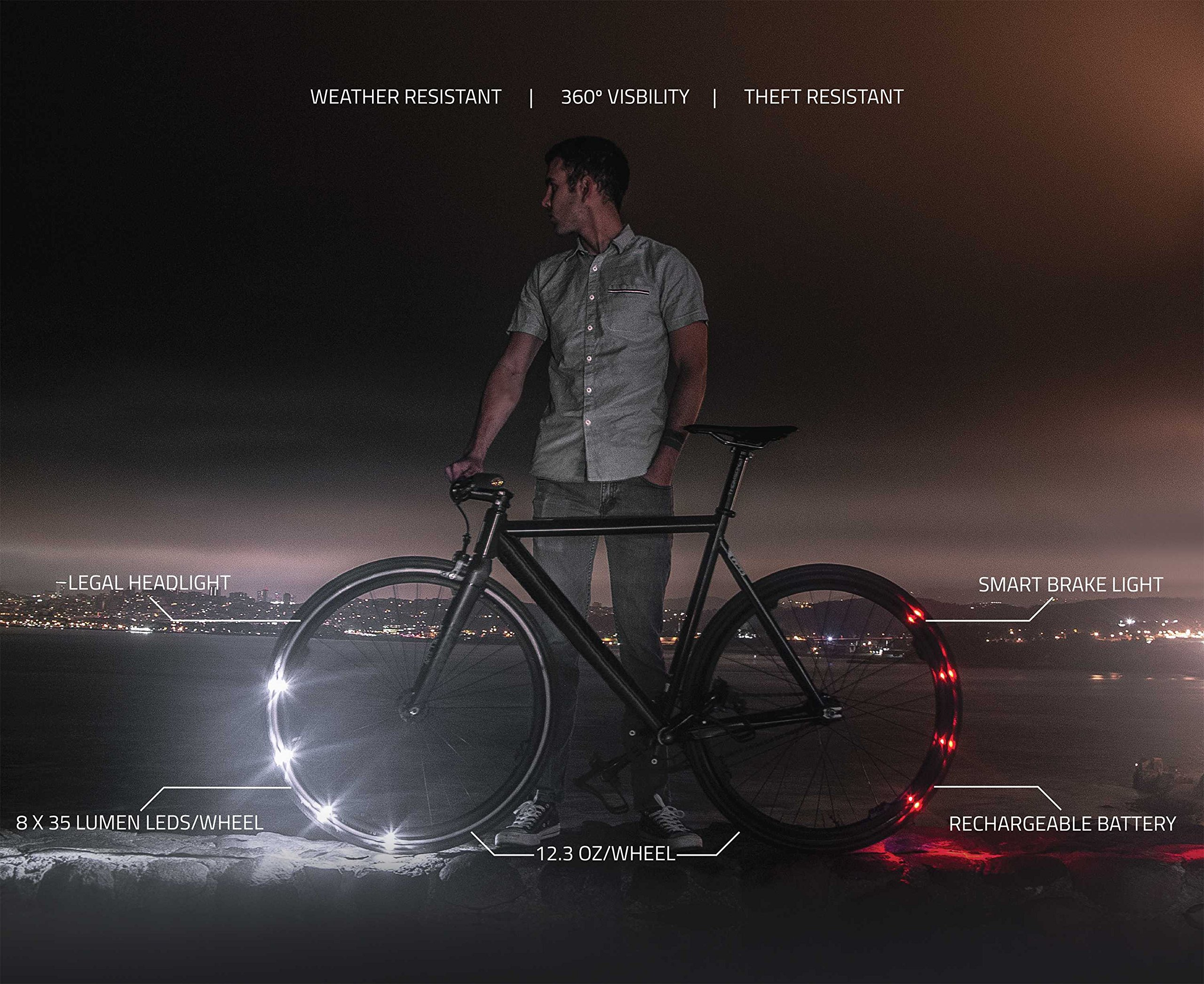 Revolights Eclipse Bicycle Lighting System, 700c/27-Inch by Revolights (Image #2)