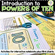 Introduction to Powers of Ten Chart for Interactive Notebooks