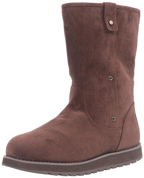 Botines de invierno ajustables para mujeres, mediados de invierno, chocolate, 8.5 M US: Amazon.es: Zapatos y complementos