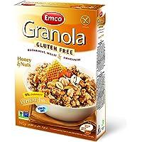EMCO Gluten Free Granola, Honey And Nuts, 340 gm
