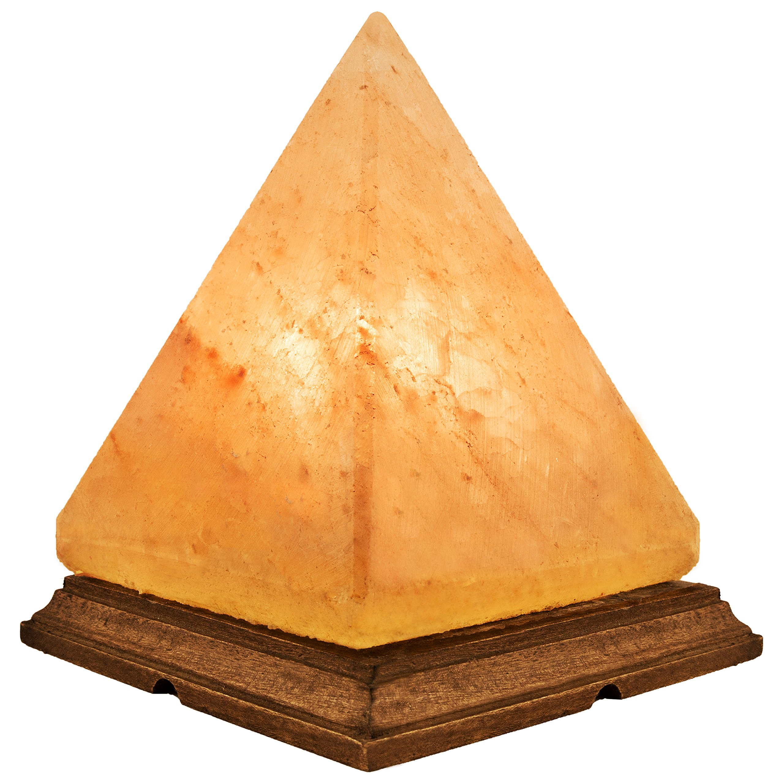 Natural Himalayan Salt Lamp with Bulb, Dimmer Cord