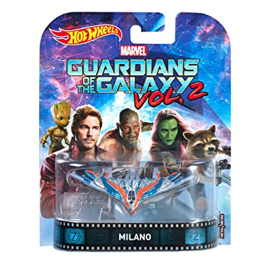 Hot Wheels Guardians of the Galaxy Milano Vehicle: Toys & Games