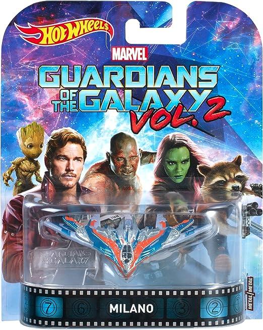 Lot of 5 2017 Hot Wheels Guardians of the Galaxy Milano Starships MOC
