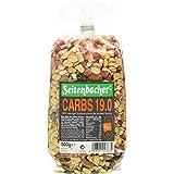 Seitenbacher Müsli Low Carb 19.0 Erdbeer, 3er Pack (3 x 0.5 kg)