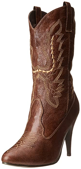 Amazon.com | Ellie Shoes Women's 418-Cowgirl Western Boot | Mid-Calf