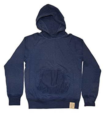 52b460fbf Ralph Lauren Polo RRL Mens Thermal Hooded Sweatshirt Shirt Navy Blue ...