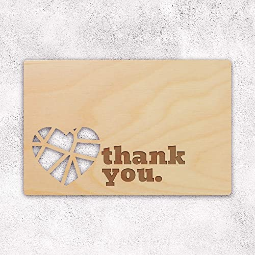 Amazon Thank You Wooden Greeting Card For Husband