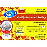 Identify the Correct Spelling workbook 1 : Prepare for Marrs Spelling Bee - Category(s) 1 & 2 .... For pre purchase queries whatsapp 9820354672