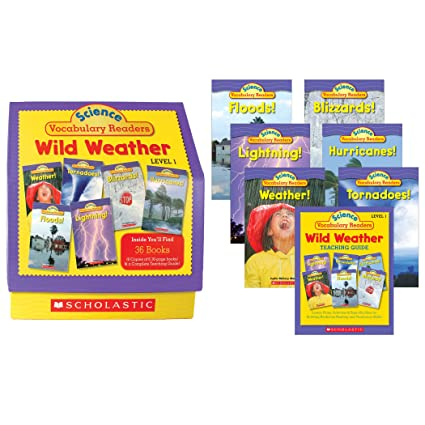 Science Vocabulary Readers: Wild Weather: Exciting Nonfiction Books That Build Kids' Vocabularies