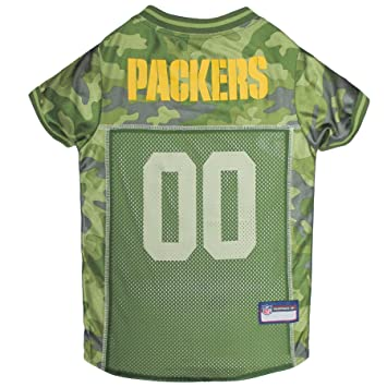 separation shoes fc13d bde0d NFL CAMO JERSEY for DOGS & CATS. Football Dog Jersey Camouflage available  in 32 NFL TEAMS & 5 sizes. Cuttest Hunting Dog Dress! Camouflage Pet Jersey  ...