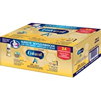 Enfamil A+ Infant Formula Ready to Feed Nursette Bottles, 59mL, 24 pack
