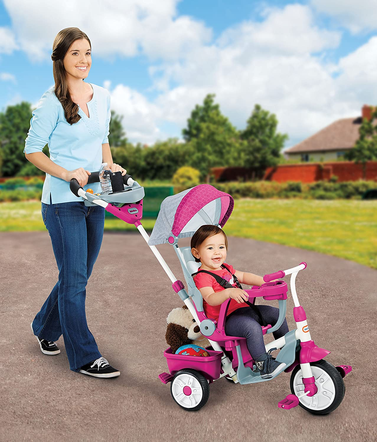 little tikes - Triciclo evolutivo 4 en 1, Color Rosa (638695 ...