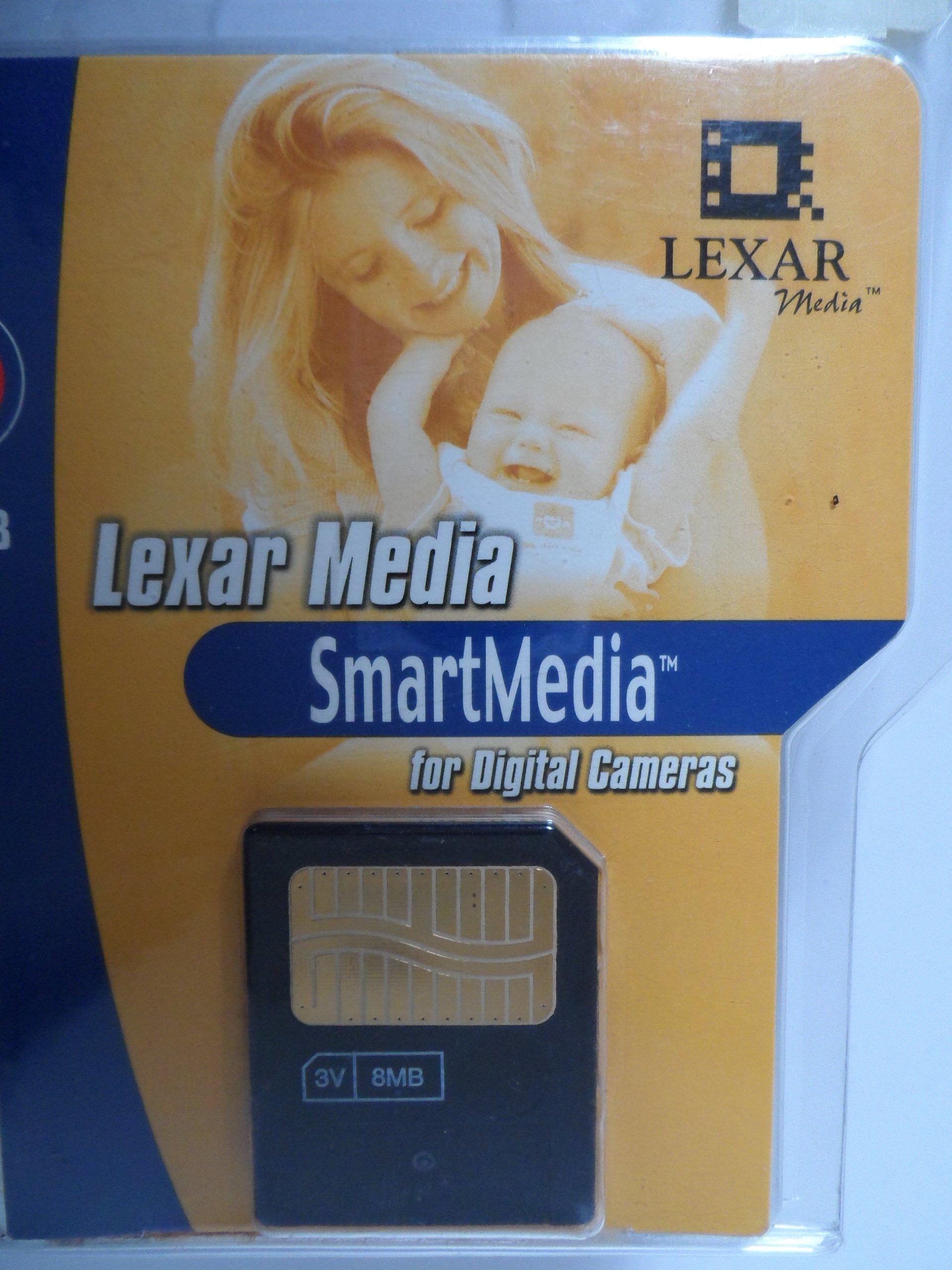 Lexar Media 8MB Smartmedia Digital Film with Clamshell Case by Lexar