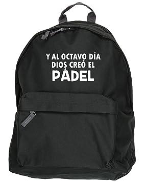 HippoWarehouse Y Al Octavo Día Dios Creó El Pádel kit mochila Dimensiones: 31 x 42 x 21 cm Capacidad: 18 litros: Amazon.es: Equipaje