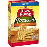 Keebler Town House Snack Crackers, Focaccia Tuscan Cheese, 9 Ounce Package
