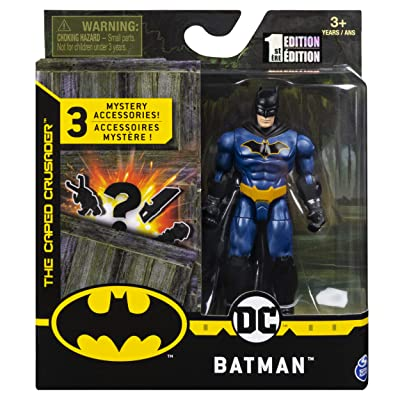DC Batman 2020 Batman (Walmart Exclusive Blue Costume) 4-inch Action Figure by Spin Master: Toys & Games