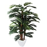 Closer2Nature Artificial 5ft Areca Palm Tree - Portofino Planter Not Included