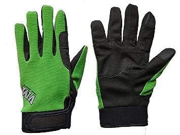 f0f0ccf1b0245c VM Western Sports Riding Sports ReitPure Handschuhe, Grün, M: Amazon ...