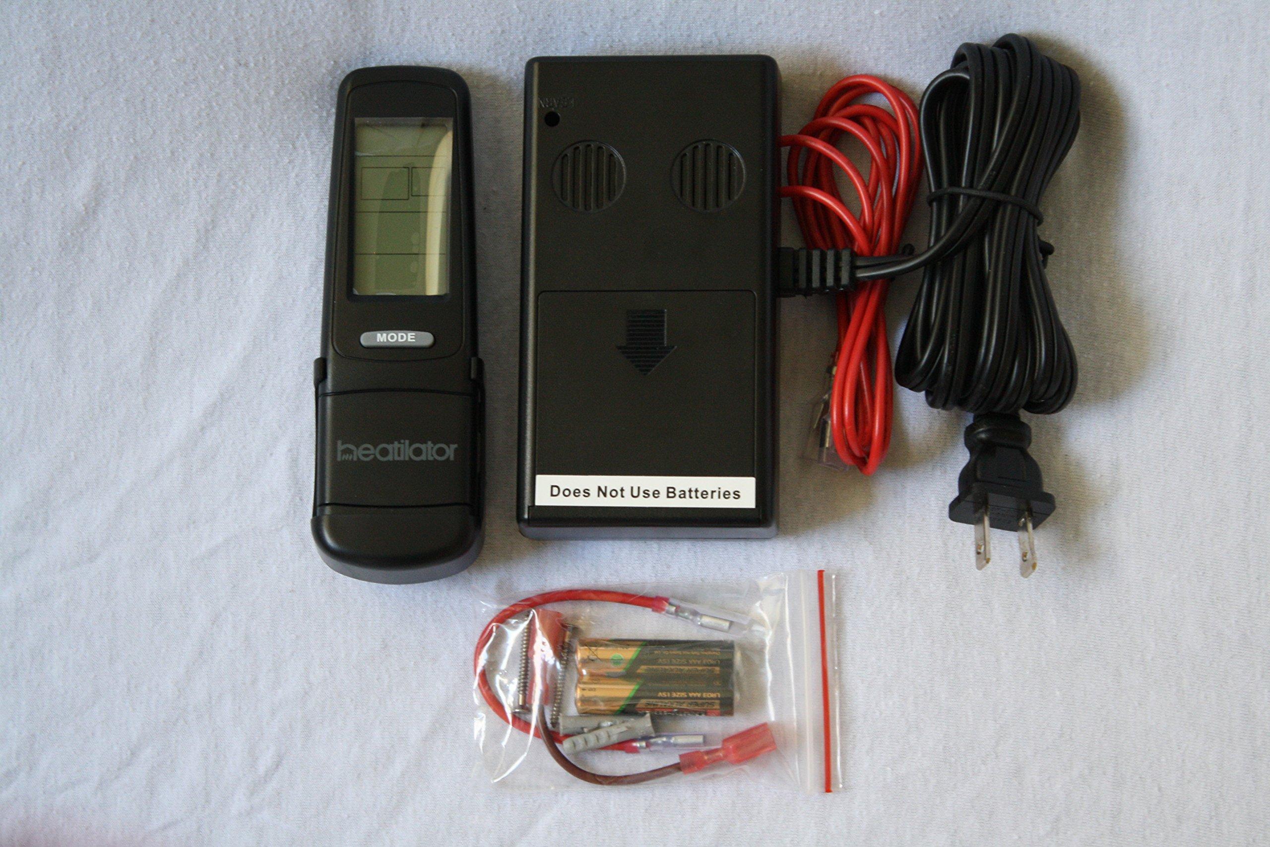 Heatilator Smart Stat HTL Fireplace Remote Control Heat & Glo by Heatilator