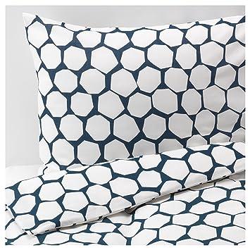 Ikea Bettwäsche Garnitur Flöng 3 Größen 140 X 200 Cm Amazonde
