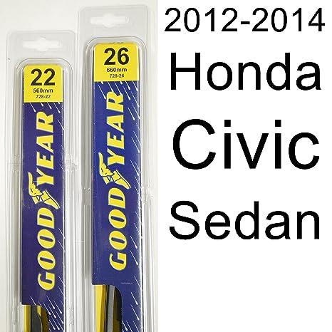 Honda civic 2013 wiper blades