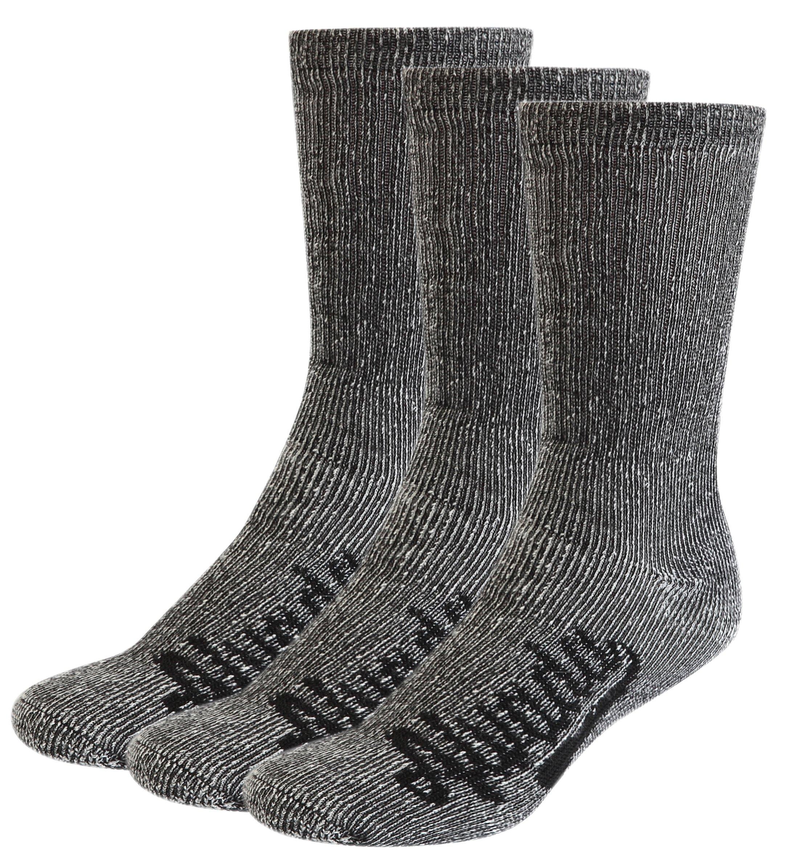 Alvada 80% Merino Wool Hiking Socks Thermal Warm Crew Winter Sock for Men Women 3 Pairs SM by Alvada