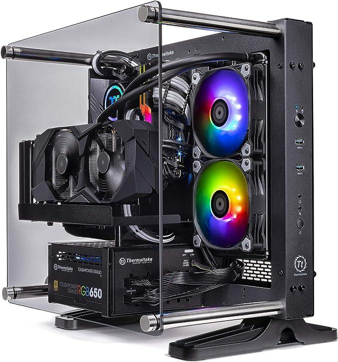 Amazon.com: Thermaltake LCGS P-101 AIO Liquid Cooled CPU Gaming PC (AMD RYZEN 5 3600X 3.8Ghz, TOUGHRAM DDR4 3200Mhz RGB 16GB, RTX 2060 Super 8GB, Gen4 M.2 1TB, WiFi, Win 10 Pro) P1BK-X570-AP1-LCS: Computers & Accessories