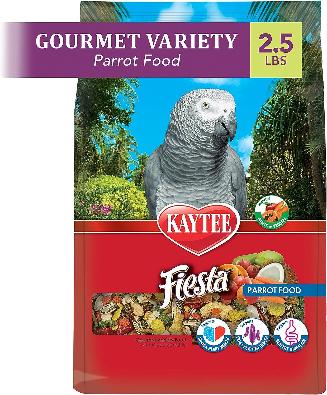 Kaytee Fiesta Parrot Food 2.5 lb
