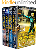 Tanis Richards: Infiltrator - Origins of Destiny Books 1-4 - A SciFi Space Opera Military Adventure (Aeon 14…