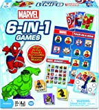 Marvel 6-in-1 Game Collection Card Game