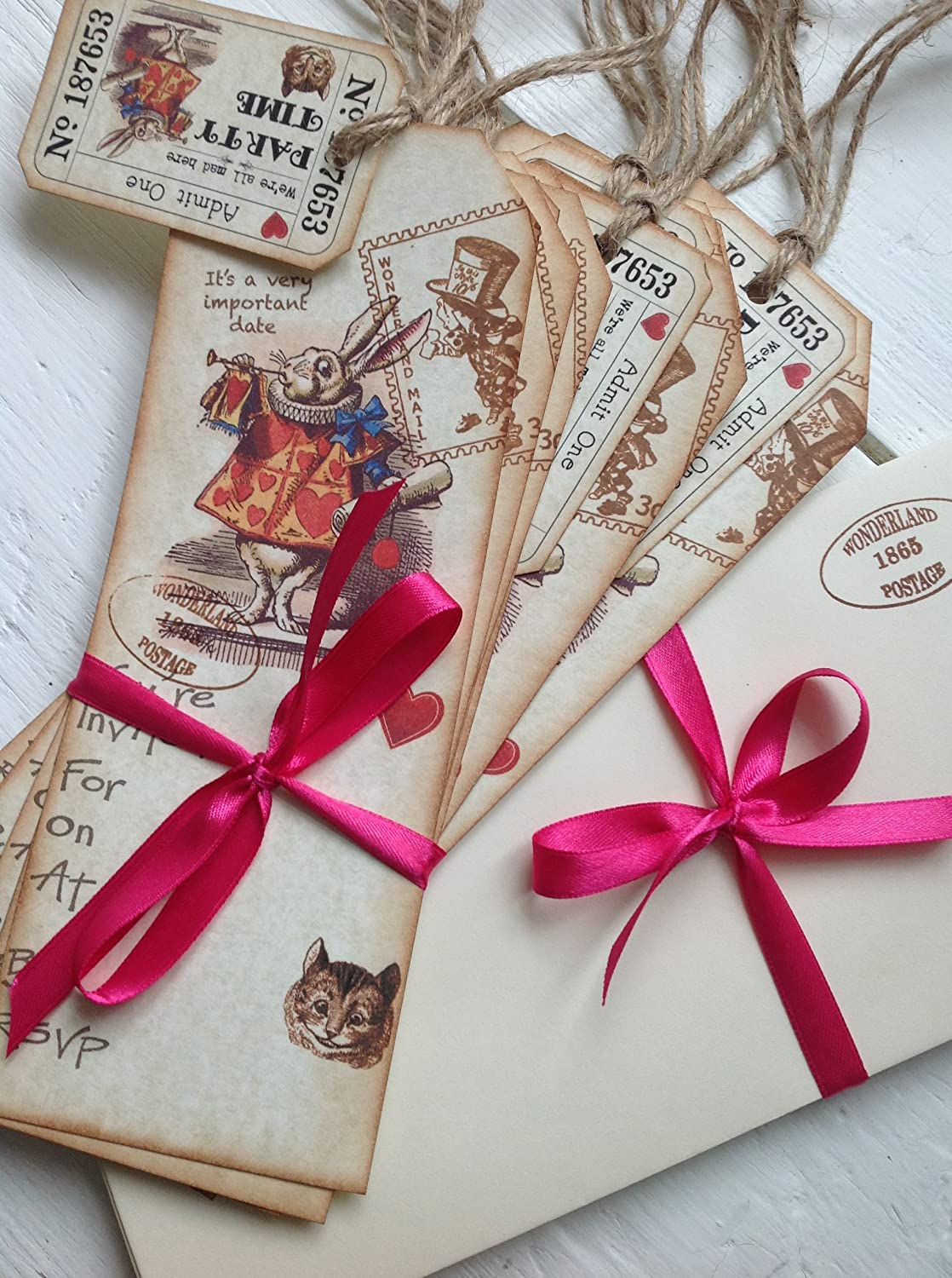 Party in Style Vintage Shabby Chic Alice in Wonderland Party ...