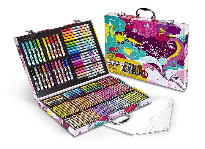 Crayola 绘儿乐 Inspiration 小艺术家精美绘画礼盒 6.9折$17.25 海淘转运到手¥223 中亚Prime会员凑单免运费直邮到手约¥141