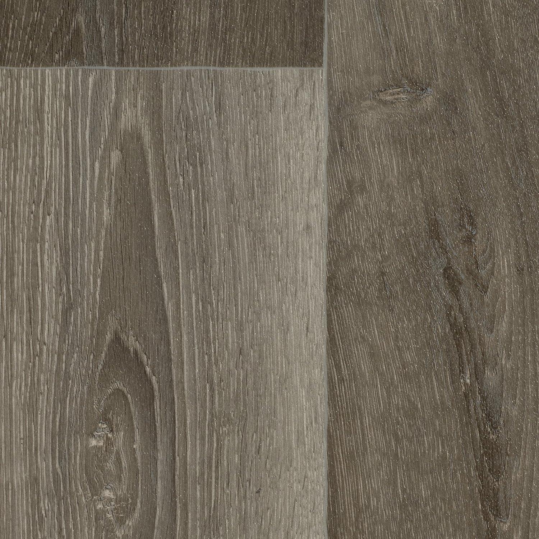 300 BODENMEISTER BM70566 Vinylboden PVC Bodenbelag Meterware 200 Holzoptik Diele Eiche grau 400 cm breit
