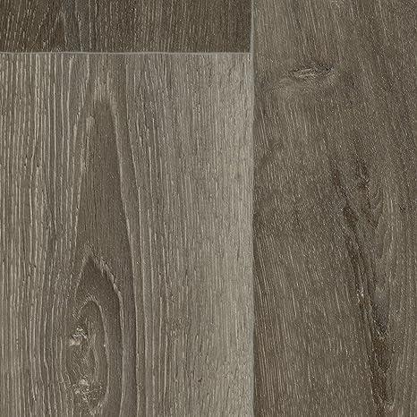 Meterware 200 verschiedene Gr/ö/ßen Dielenoptik Eiche dunkel 300 und 400 cm Breite PVC Bodenbelag Holzoptik Gr/ö/ße: 3,5 x 2 m