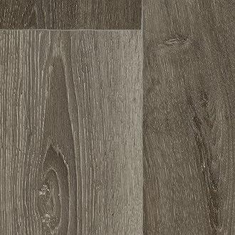 Holzoptik Schiffsboden Nussbaum 300 BODENMEISTER BM70568 Vinylboden PVC Bodenbelag Meterware 200 400 cm breit