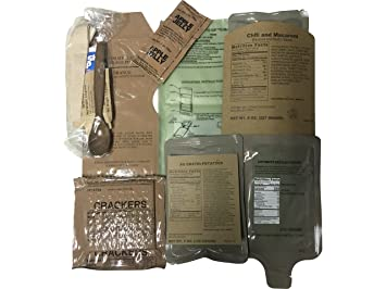 Amazon.com   MRE (Meals-Ready-To-Eat) Sure-Pak Meal-2017 Pack Date ... 7398c09bc9