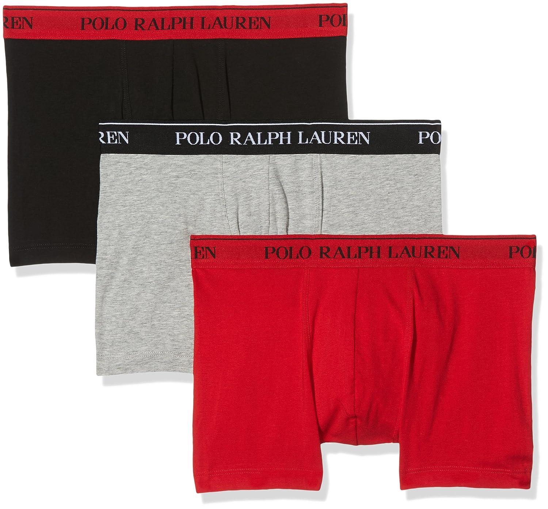 Polo Ralph Lauren Pants 3pk Black/An HTHR/Red-Pantalones Cortos ...