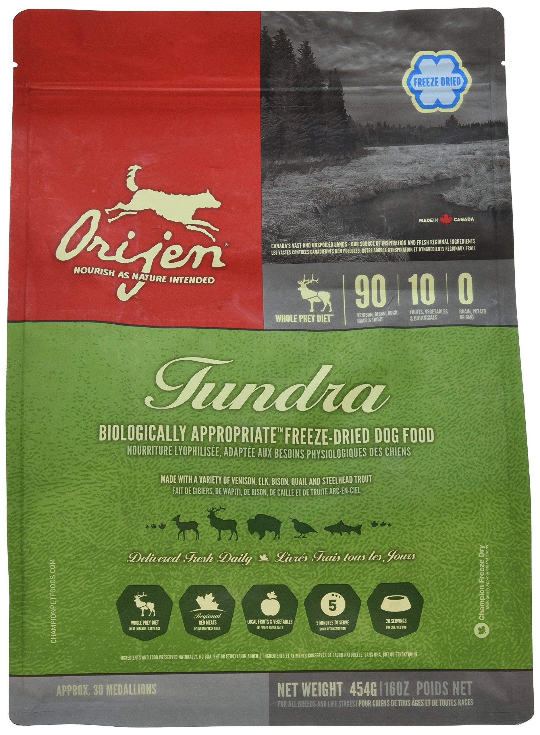 Orijen Freeze-Dried Tundra Formula, 16 oz by Orijen