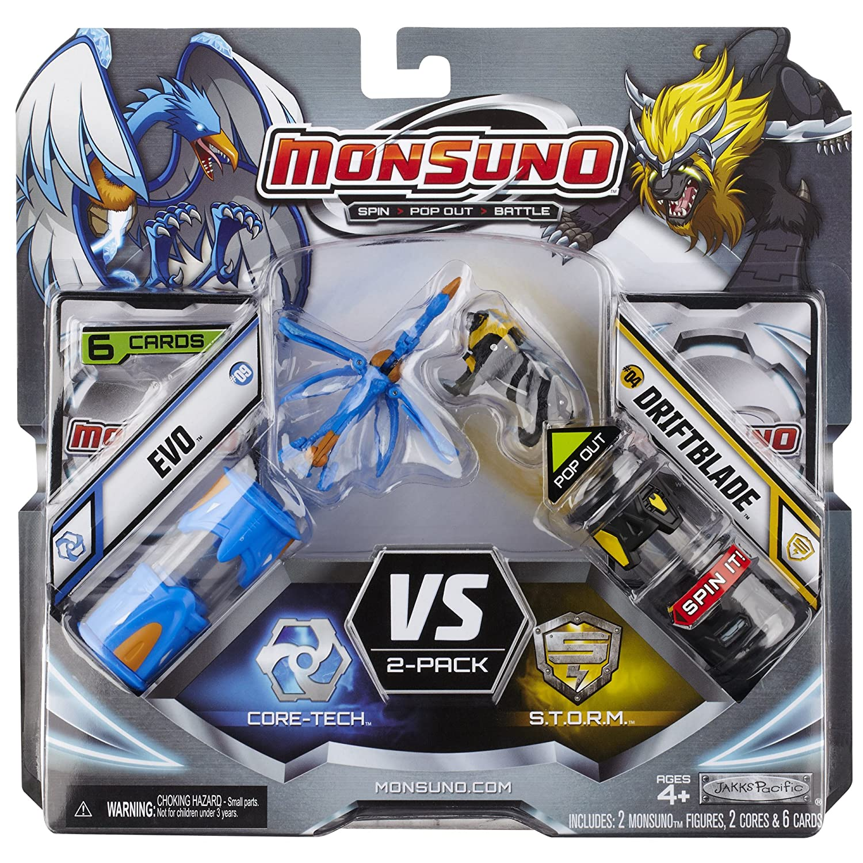 Evo Vs Driftblade Monsuno Monsuno Core Combat 2er Pack #1 Spielzeug
