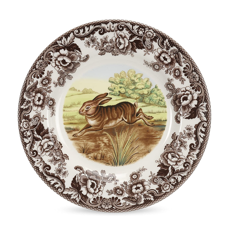 sc 1 st  Amazon.com & Amazon.com: Spode Woodland Rabbit Dinner Plate: Kitchen u0026 Dining