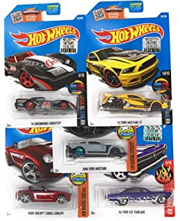 Amazon Com Hot Wheels Gift Pack S Muscle Cars Toys Games