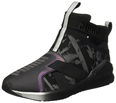 PUMA Fierce Strap Swan Women s Training Shoes (189461)  Amazon.co.uk ... 81c527f7f