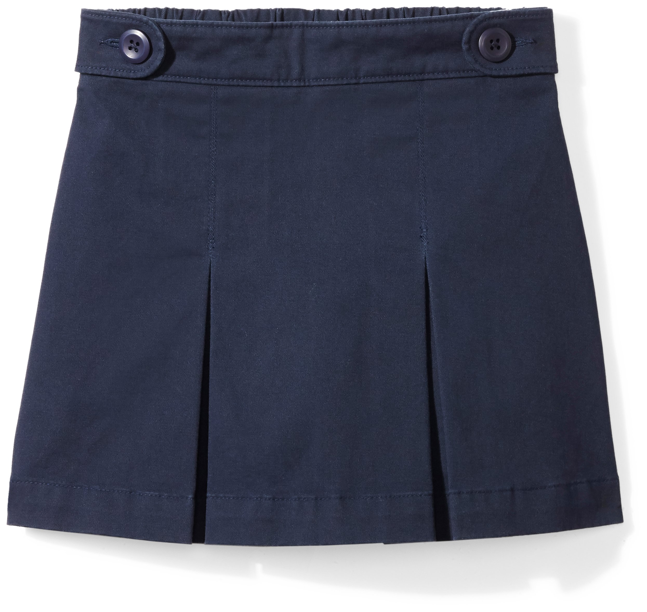 Amazon Essentials Girls' Uniform Skort, Navy Blazer, S (6/7)