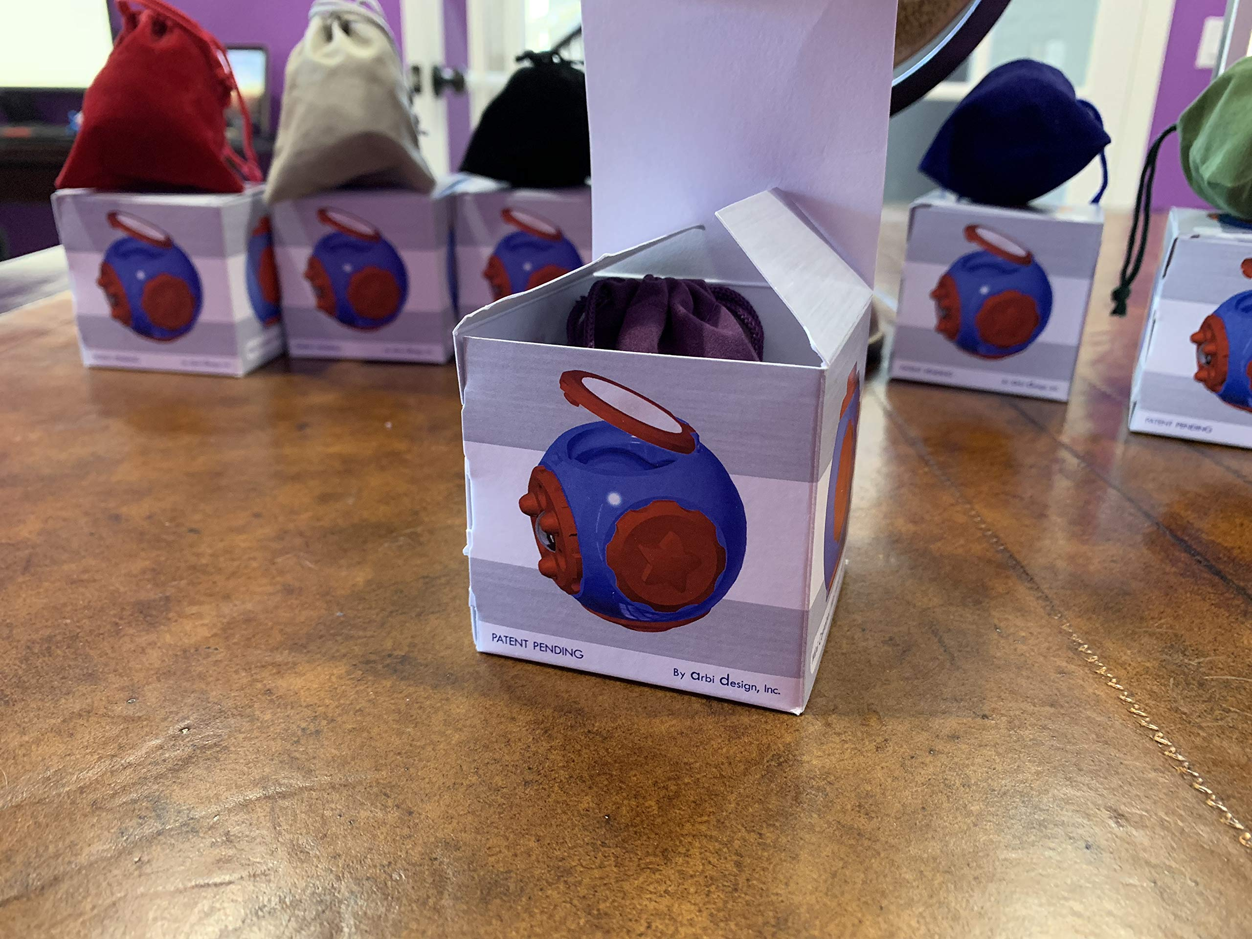 SphereGrip, Fidget toy, Reduce Anxiety and Stress, Increase Self-confidence, Fidget, Storage, Mirror (All 6 combinations) by Arbi Design (Image #2)