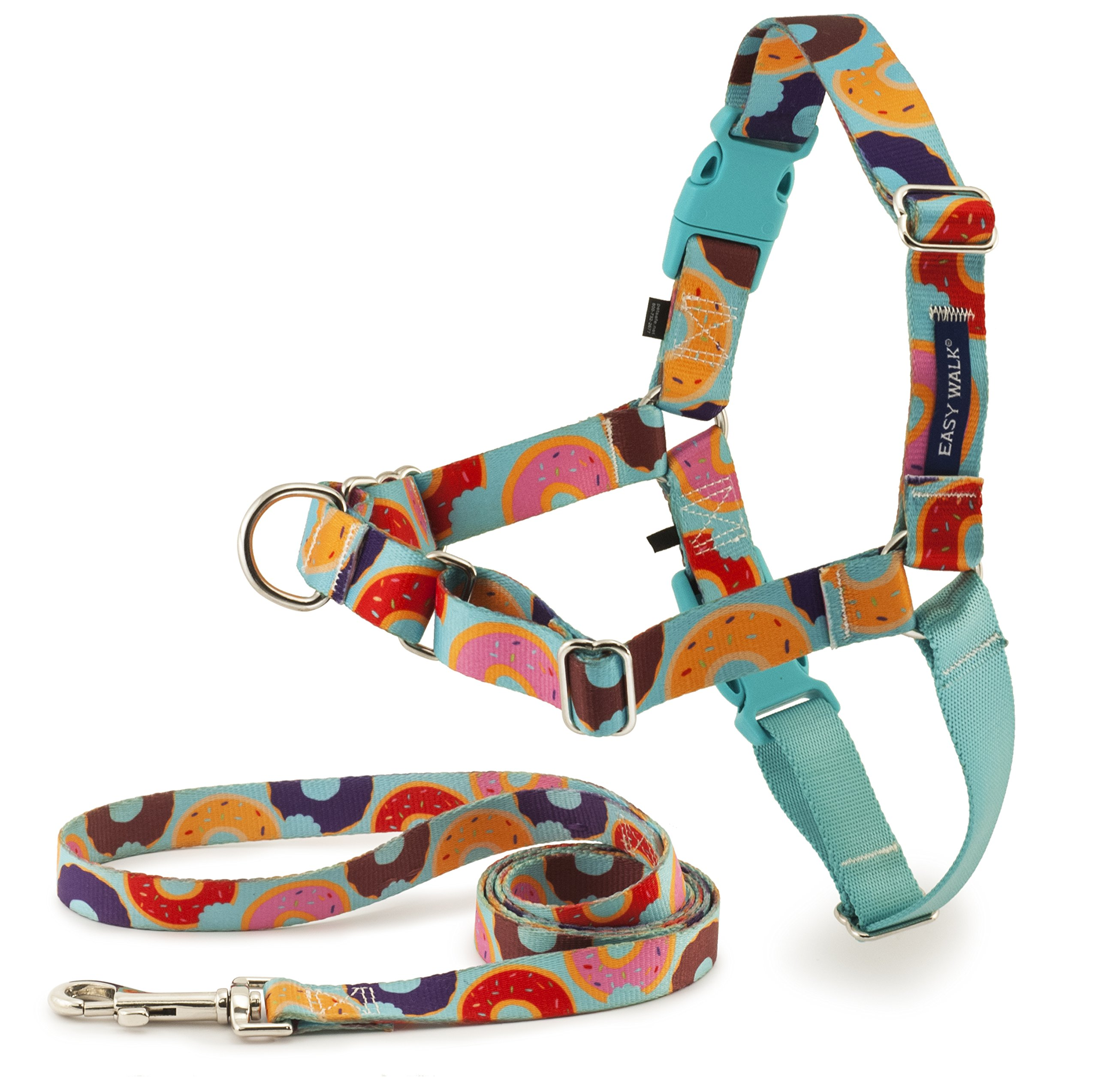 PetSafe EWH-C-HC-M-DNT Easy Walk Chic Harness, Medium, Donuts by PetSafe