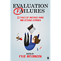 Evaluation Failures: 22 Tales of Mistakes Made and Lessons Learned
