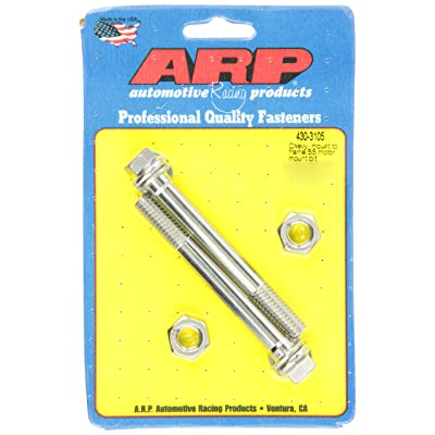 ARP 4303105 Stainless 300 Hex Motor Mount Bolt Kit: Automotive