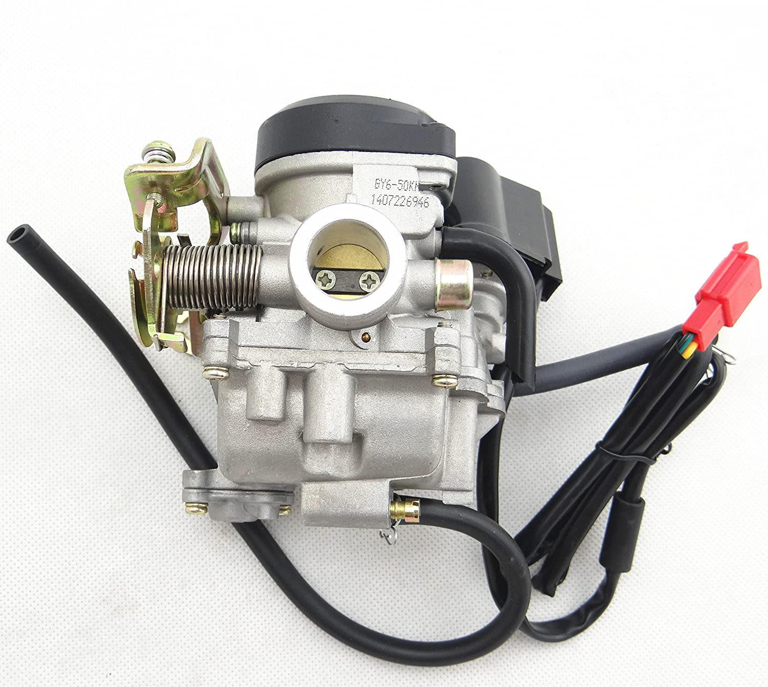 Co-riding Carb Carburetor for 4 Stroke GY6 49cc 50cc Chinese Scooter Moped  139QMB Taotao Kymco